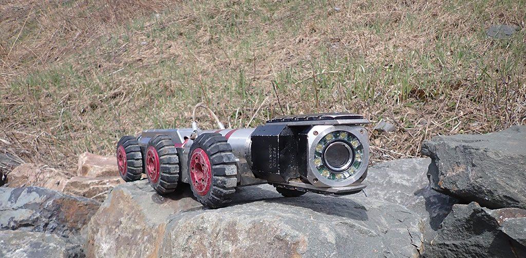 Inspection par caméra de conduites d'eau et d'égout